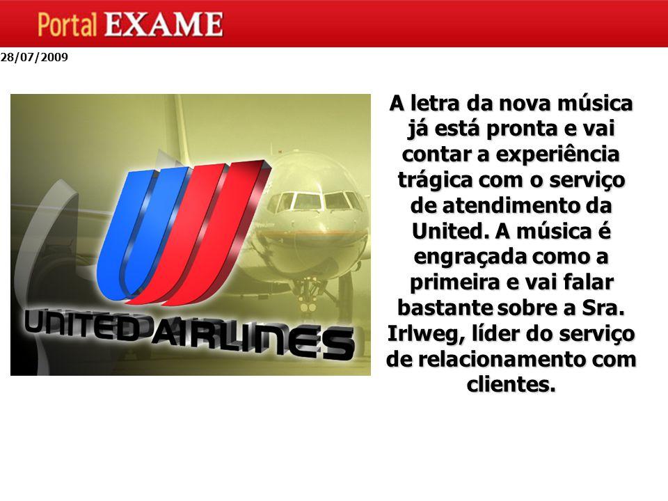 A letra da nova música já está pronta e vai contar a experiência trágica com o serviço de atendimento da United.