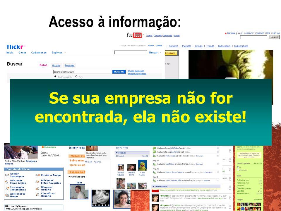 Acesso à informação: Se sua empresa não for encontrada, ela não existe!