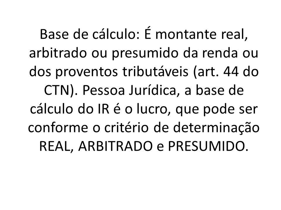Não cumulatividade – art.153, § 3º, II da CF; art.