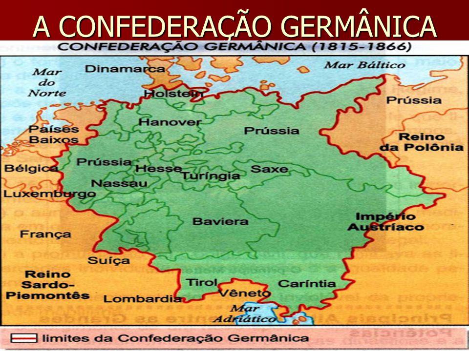 A CONFEDERAÇÃO GERMÂNICA