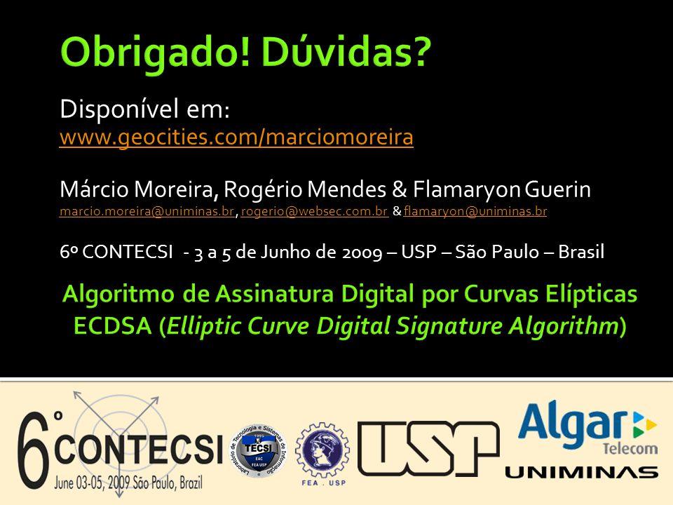 Disponível em: www.geocities.com/marciomoreira Márcio Moreira, Rogério Mendes & Flamaryon Guerin marcio.moreira@uniminas.br marcio.moreira@uniminas.br