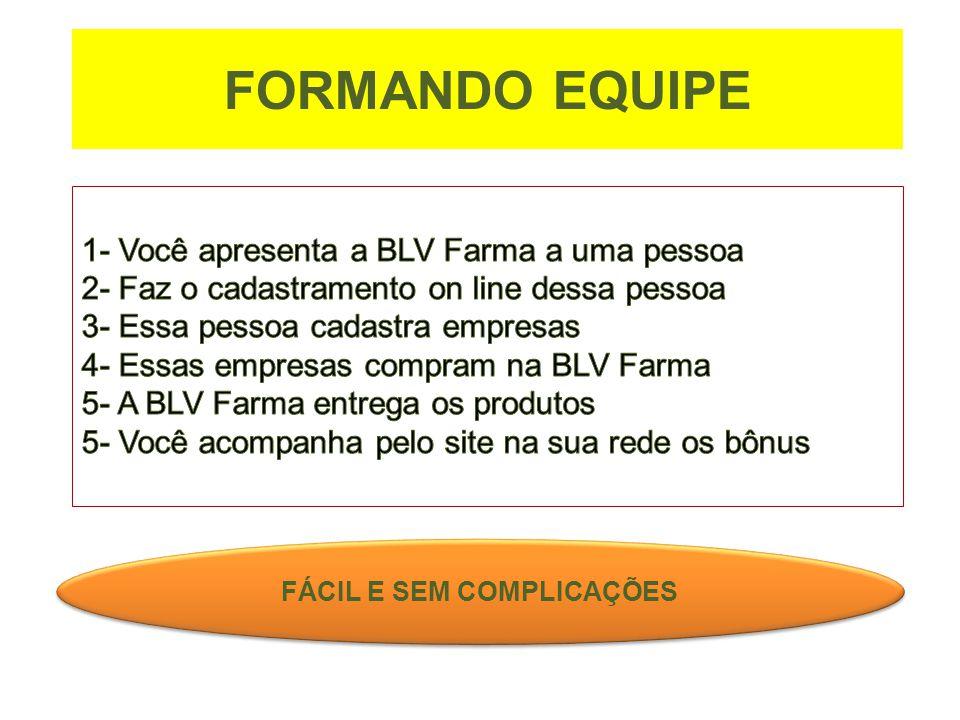 FORMANDO EQUIPE FÁCIL E SEM COMPLICAÇÕES