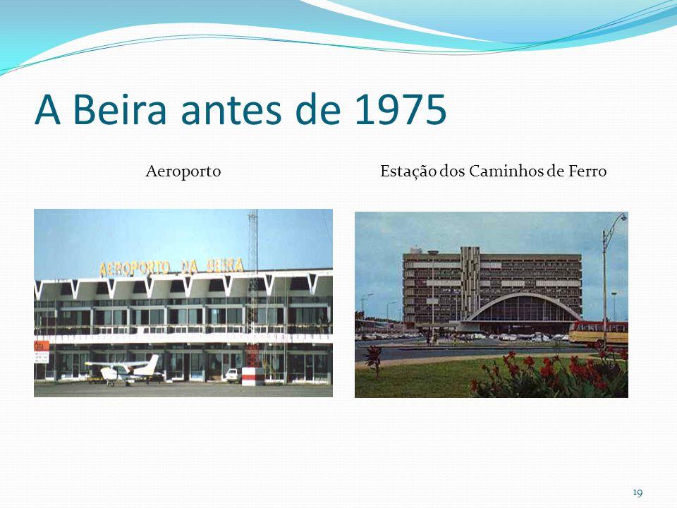 A Beira antes de 1975 Aeroporto Estação dos Caminhos de Ferro 19