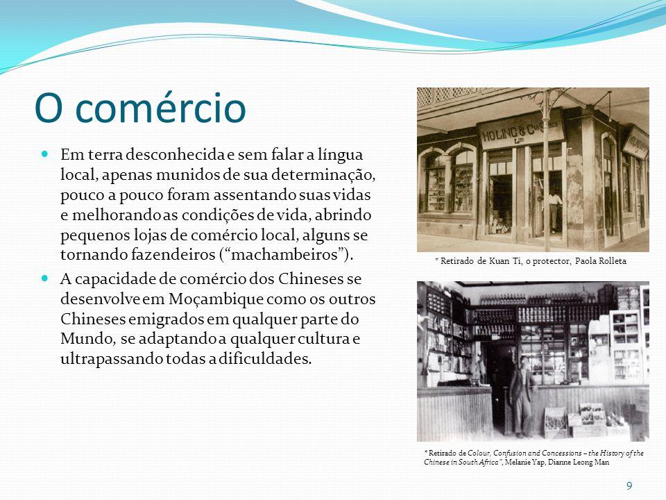 A associação cultural O primeiro Pagode Chinês da Associação Chinesa de Lourenço Marques foi fundado em 1903 por Ja Assam, um carpinteiro-arquiteto, em um terreno por ele doado.