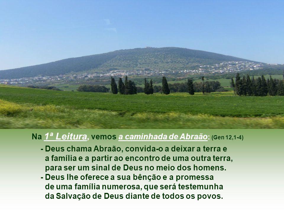 Pela Transfiguração, Jesus mostra que essa realidade hostil, em que vivemos, pode e deve ser mudada, transfigurada...