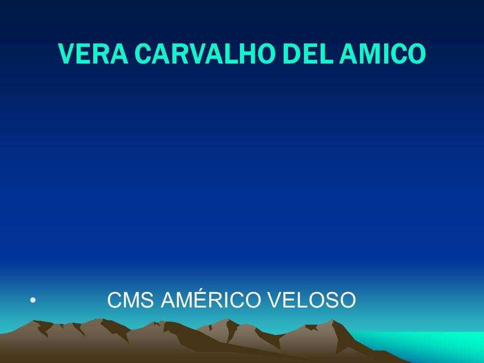 VERA CARVALHO DEL AMICO CMS AMÉRICO VELOSO