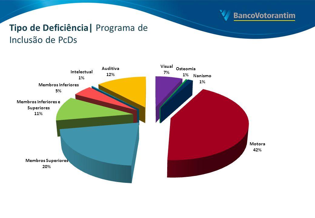 Tipo de Deficiência| Programa de Inclusão de PcDs