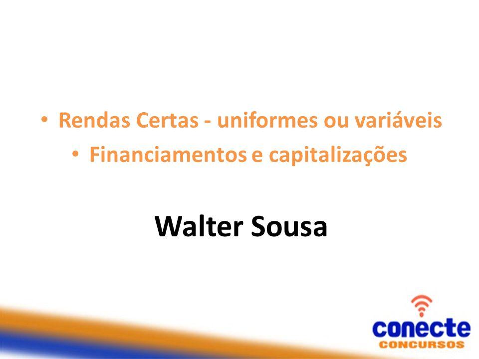 33) (Cespe/CEF) Um servidor se aposentará daqui a 200 meses e pretende aplicar, durante esse período, uma mesma quantia mensal em uma instituição financeira que paga juros compostos mensais de 0,8%.