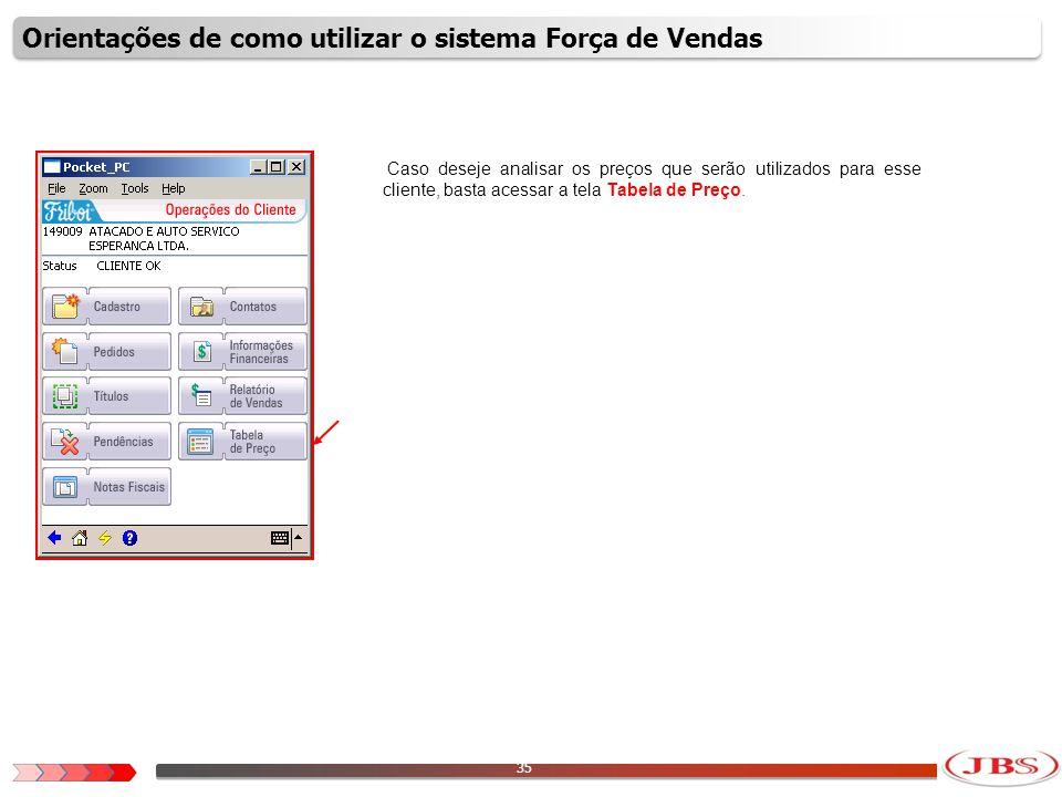 36 Para analisar as informações, escolha uma divisão comercial e depois clique no ícone com o formato de uma lupa.