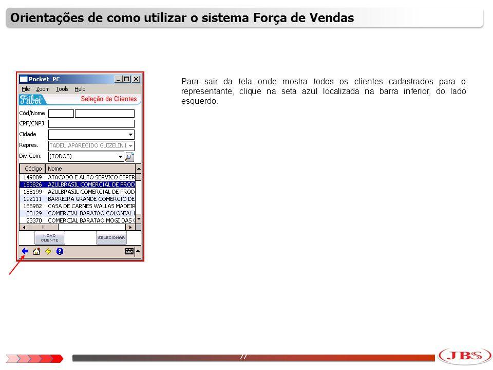78 Para analisar informações independente do cliente, clique na opção Administração.
