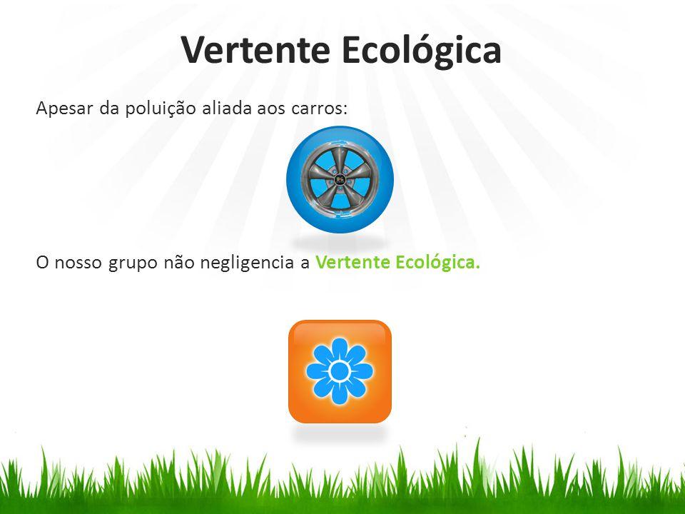 Apesar da poluição aliada aos carros: O nosso grupo não negligencia a Vertente Ecológica.
