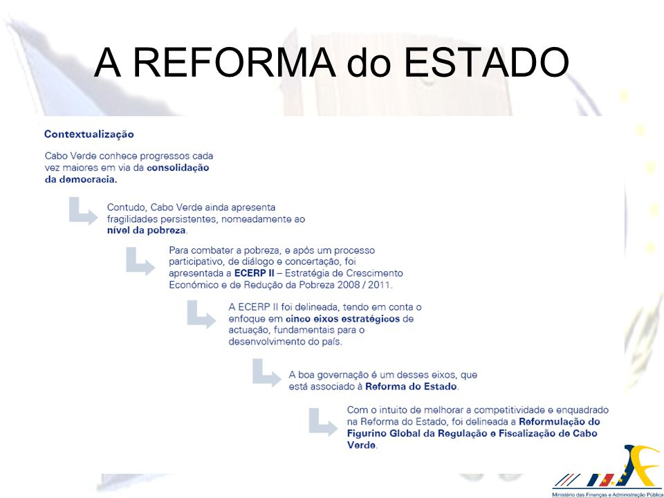 A Agenda de Transformação