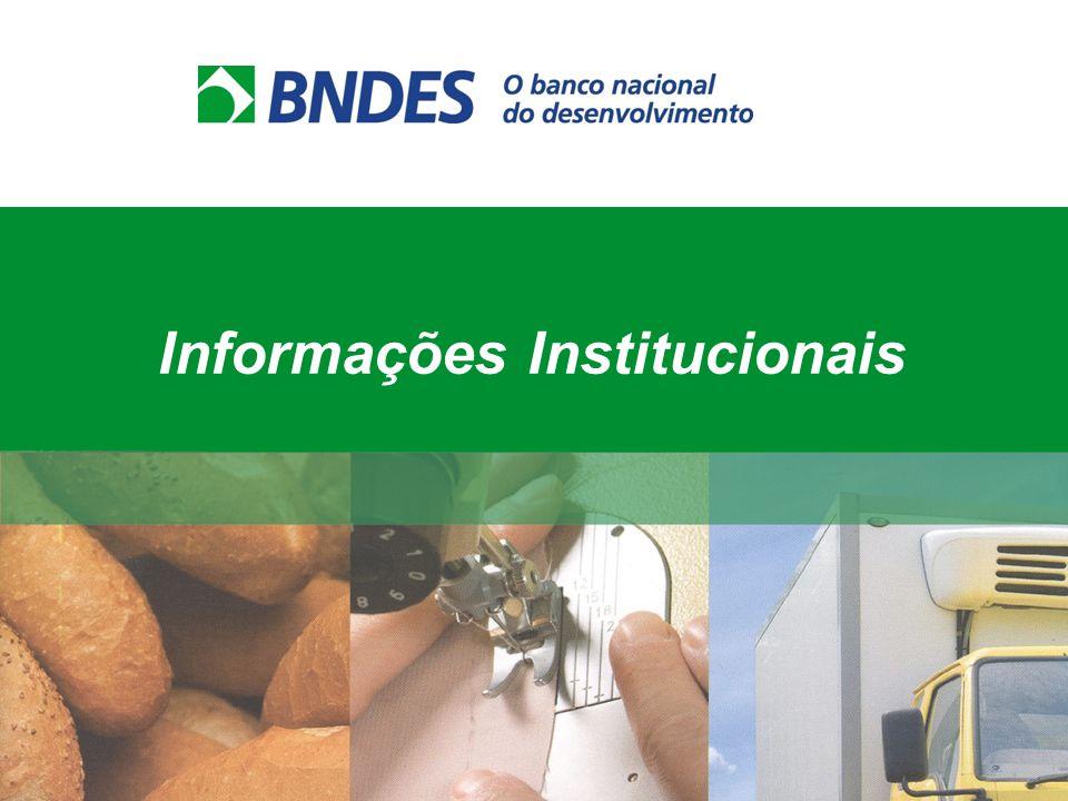 Contratadas diretamente com o BNDES Como apoiamos? Operações Diretas Empresário