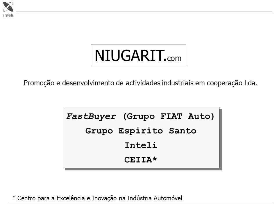 AGENDA 1.A abordagem da INTELI: EMPREENDORISMO 2.A oportunidade da Niugarit 3.Modelo de negócio (actividades) 4.Acções em curso - business e O foco deve residir no business!