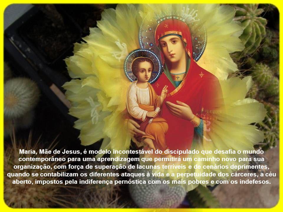 Sua figura de mulher livre e forte emerge do Evangelho, conscientemente orientada para o verdadeiro seguimento de Jesus.