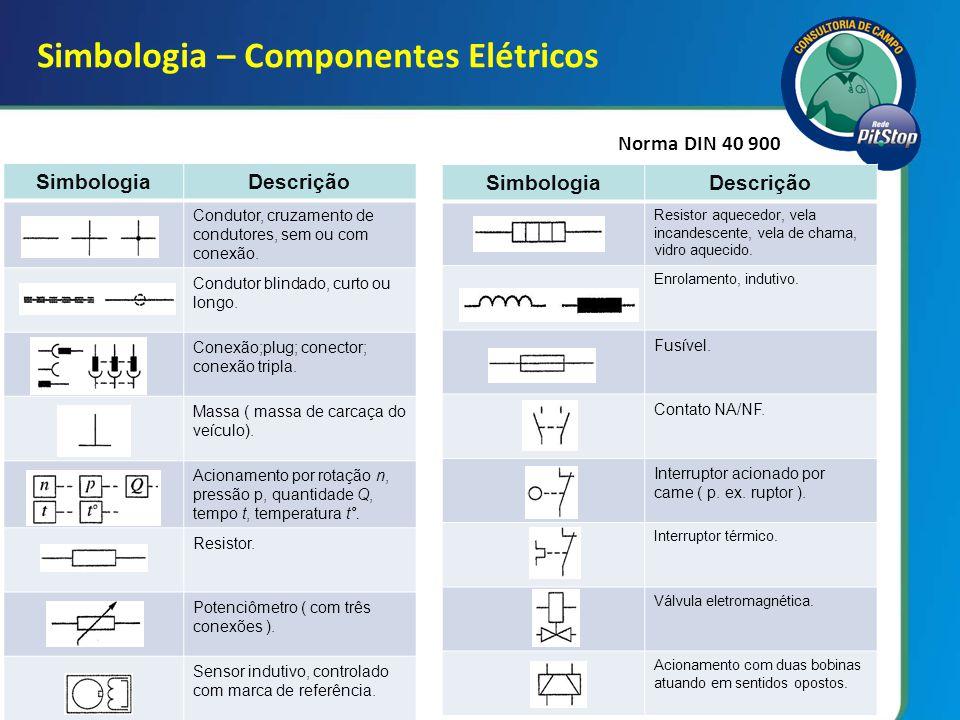 4 SimbologiaDescrição Sensor de fluxo, sensor de nível de combustível.
