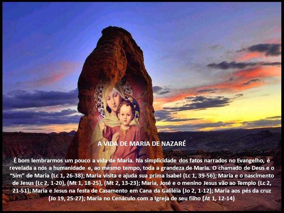 No Brasil, o povo escolheu como forma predileta de venerá-la o nome de N.sra. Aparecida. A profecia da moça de Nazaré (todas as gerações hão de me cha