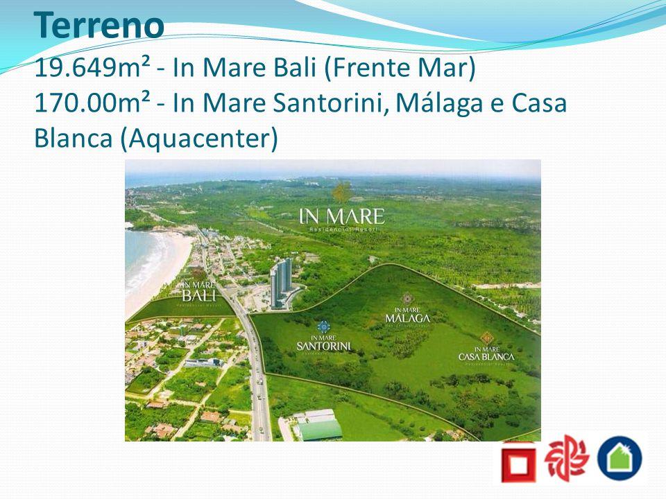 Terreno 19.649m² - In Mare Bali (Frente Mar) 170.00m² - In Mare Santorini, Málaga e Casa Blanca (Aquacenter)