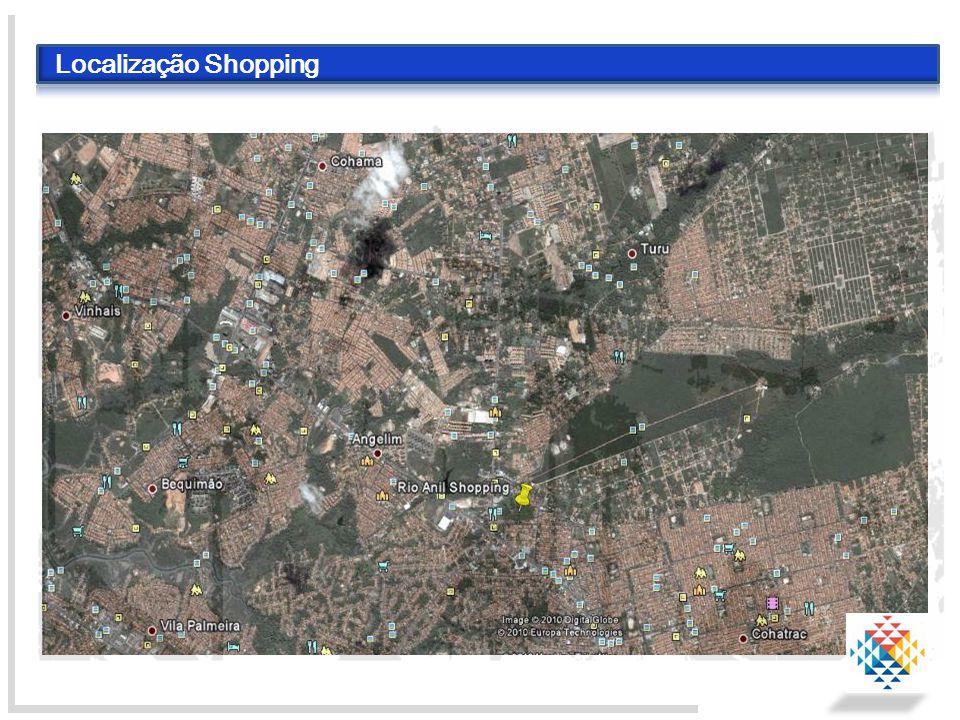 Localização Shopping