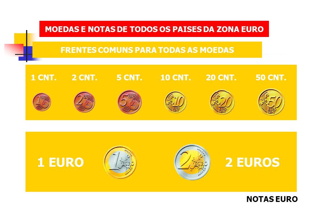 MOEDAS E NOTAS DE TODOS OS PAISES DA ZONA EURO FRENTES E VERSOS COMUNS PARA TODAS AS NOTAS 500 EUROS MENU NOTAS EURO MENU MOEDAS EURO MENU INICIAL