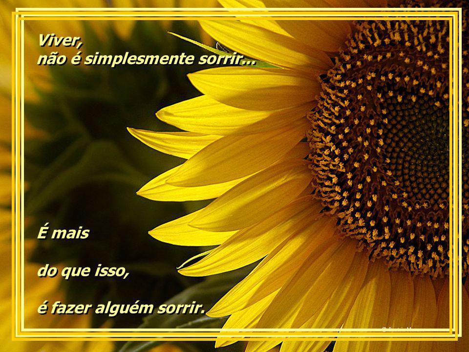 Viver, não é simplesmente sorrir...Viver, não é simplesmente sorrir...