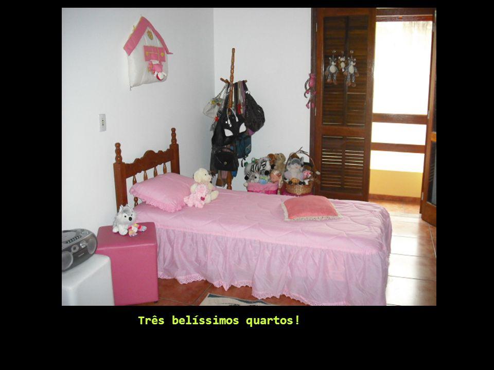 Três belíssimos quartos!
