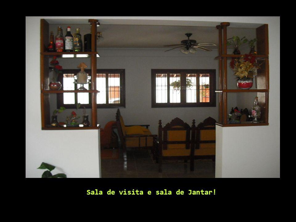 Sala de visita e sala de Jantar!