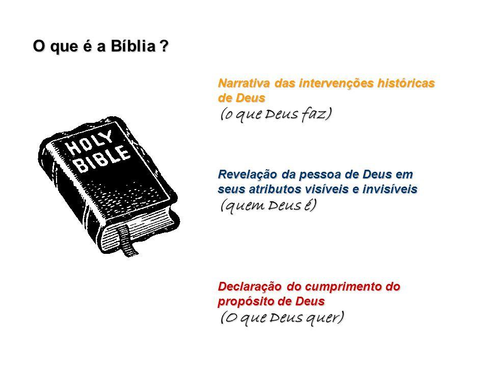O que é a Bíblia .