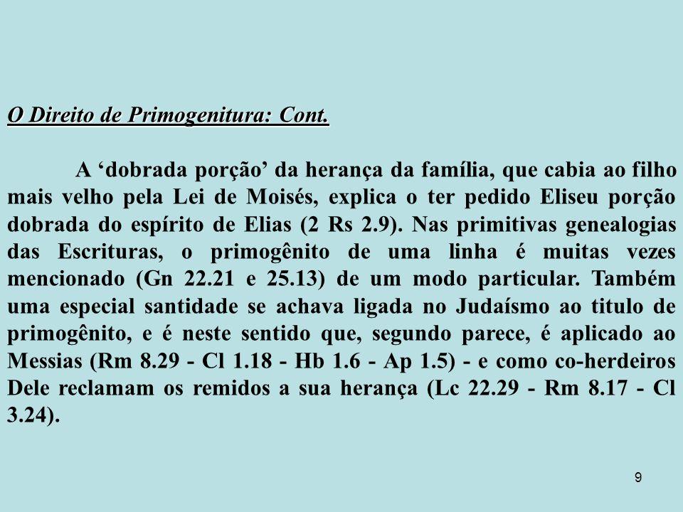 Primogênito=Primogênito=Heb.da raiz=Bakar=ser nascido como primícia, nascer primeiro.