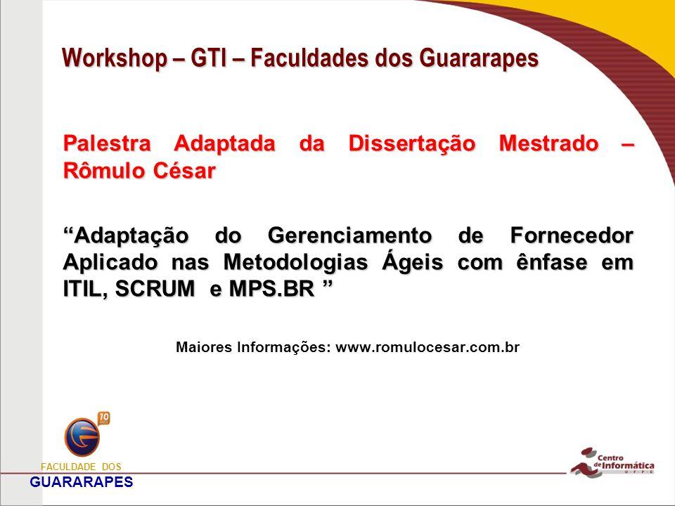 Análise de Perfil Papel do Entrevistado Região Geográfica da Empresa FACULDADE DOS GUARARAPES