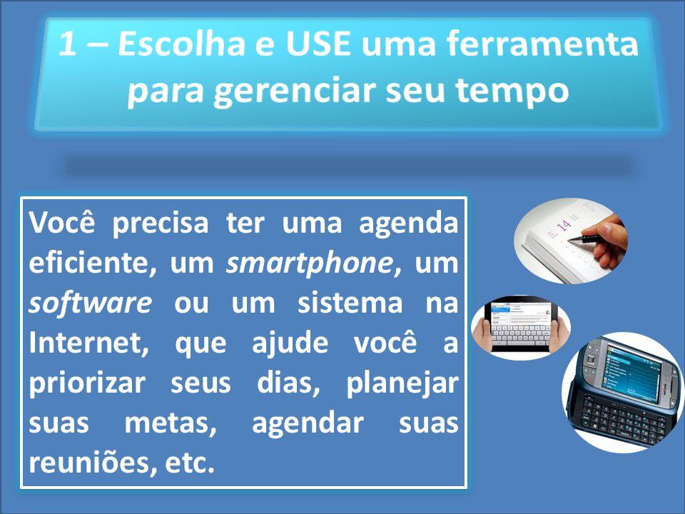 Cursos a Distância em todo o Brasil www.institutoprominas.com.br 0800 283 8380 UCAMPROMINASUCAMPROMINAS UCAMPROMINASUCAMPROMINAS Cursos a Distância em todo o Brasil www.ucamprominas.com.br 0800 283 8380 Cursos a Distância em todo o Brasil www.institutoprominas.com.br 0800 283 8380 Cursos a Distância em todo o Brasil www.ucamprominas.com.br 0800 283 8380 Você precisa ter uma agenda eficiente, um smartphone, um software ou um sistema na Internet, que ajude você a priorizar seus dias, planejar suas metas, agendar suas reuniões, etc.