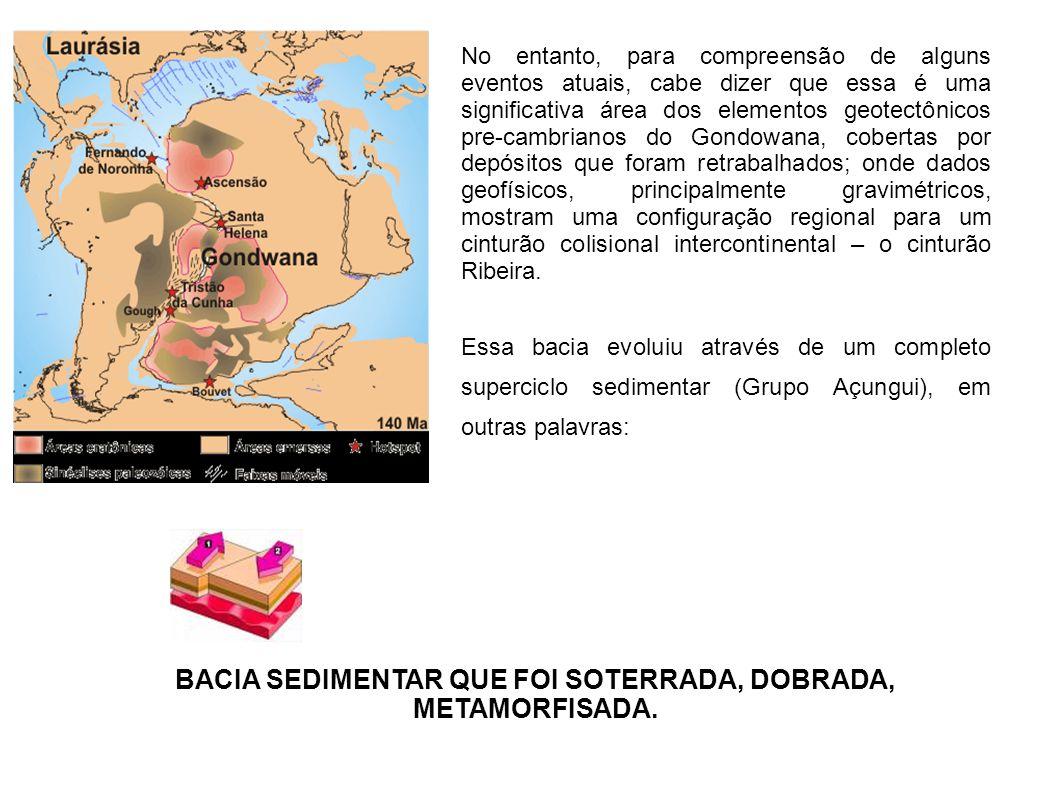 No entanto, para compreensão de alguns eventos atuais, cabe dizer que essa é uma significativa área dos elementos geotectônicos pre-cambrianos do Gond