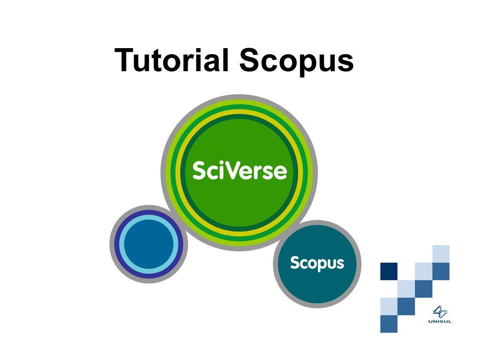 Tutorial Scopus
