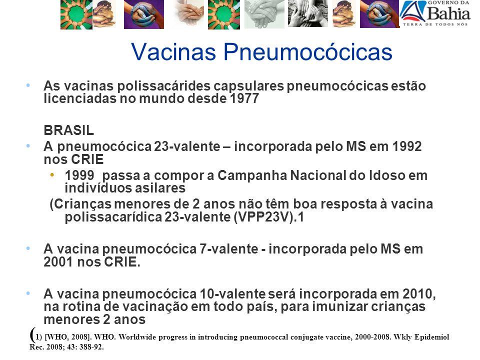 Campanhas Nacionais de Vacinação Propostas de datas Influenza - 24/04 a 07/05 Poliomielite - 1ª etapa - 12/06 - 2ª etapa - 14/08
