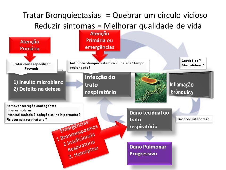 Infecção do trato respiratório Dano tecidual ao trato respiratório 1) Insulto microbiano 2) Defeito na defesa 1) Insulto microbiano 2) Defeito na defe