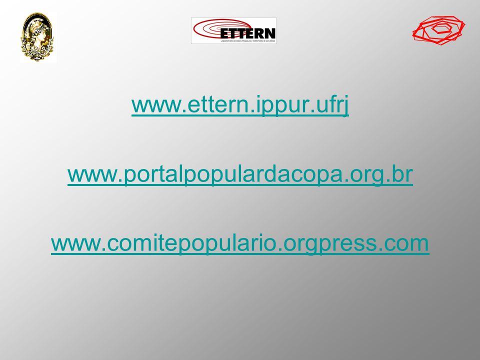 www.ettern.ippur.ufrj www.portalpopulardacopa.org.br www.comitepopulario.orgpress.com