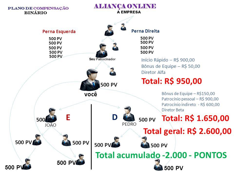 PRÊMIOS POR VOLUMES PAGOS E ACUMULADOS 10.000 – PONTOS – UM DATA SHOW 5.000 – PONTOS UM NOTEBOOK