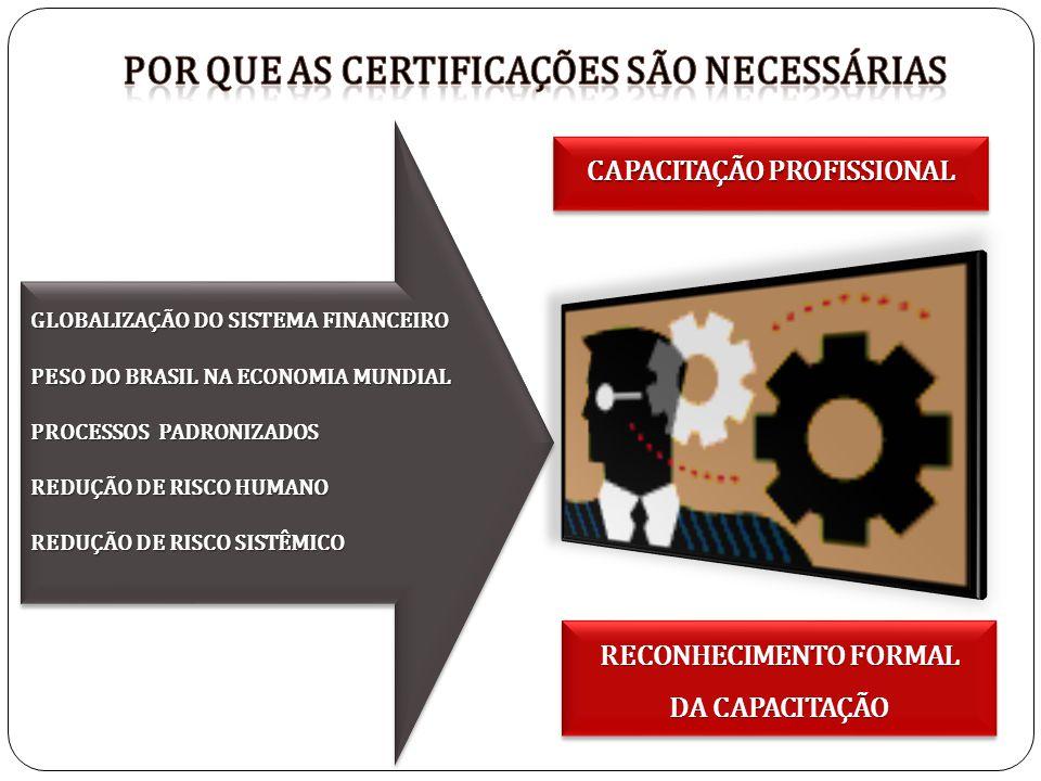 GLOBALIZAÇÃO DO SISTEMA FINANCEIRO PESO DO BRASIL NA ECONOMIA MUNDIAL PROCESSOS PADRONIZADOS REDUÇÃO DE RISCO HUMANO REDUÇÃO DE RISCO SISTÊMICO GLOBAL