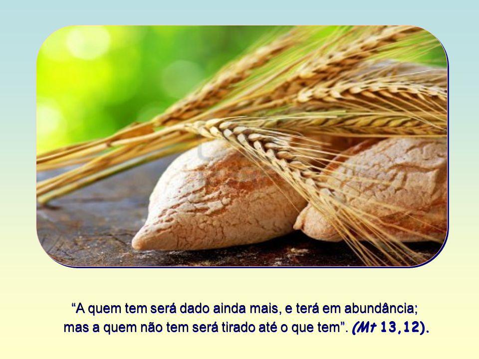 Ele compara a sua Palavra à luz, ao sal, ao fermento, a uma rede lançada ao mar, à semente jogada na terra.