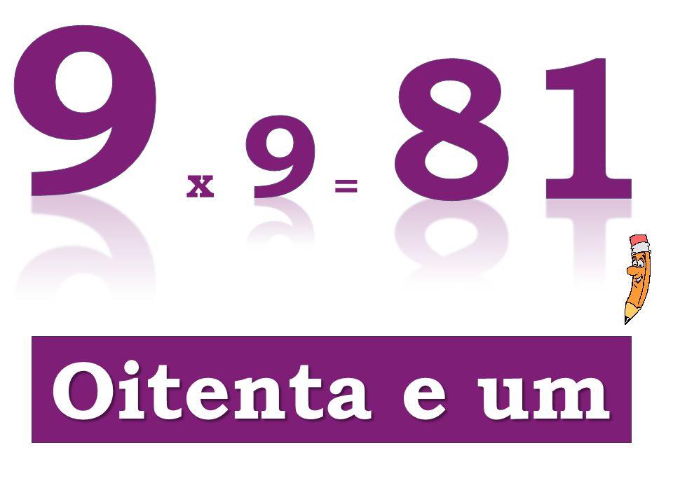 Oitenta e um x =