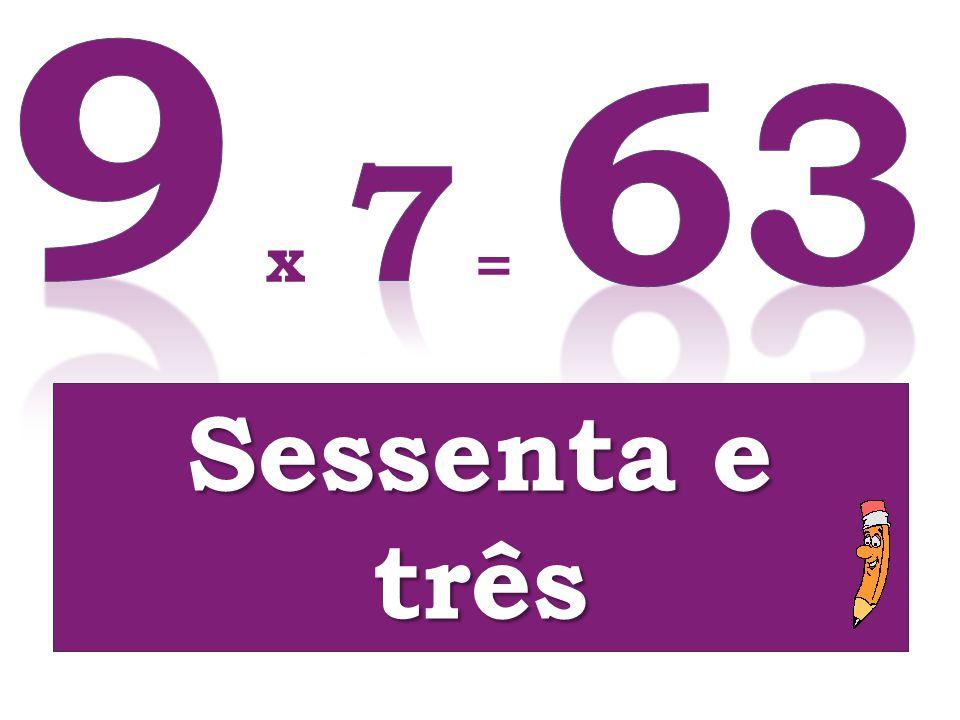 x = Sessenta e três