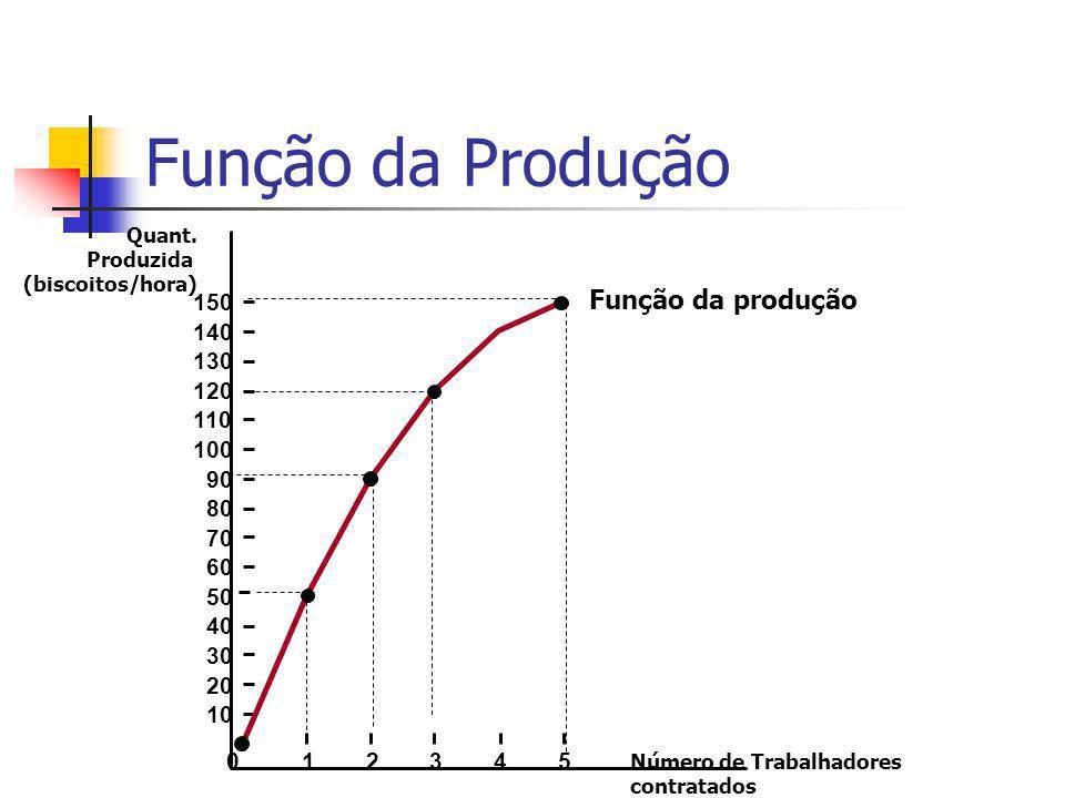 Função da Produção Quant.