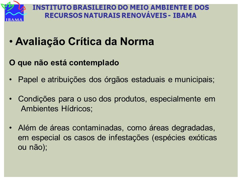 INSTITUTO BRASILEIRO DO MEIO AMBIENTE E DOS RECURSOS NATURAIS RENOVÁVEIS - IBAMA O que não está contemplado Papel e atribuições dos órgãos estaduais e