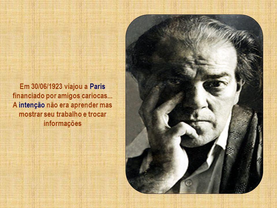 Suas músicas provocam furiosas críticas... embora na Semana da Arte Moderna de 1922... é consagrado compositor