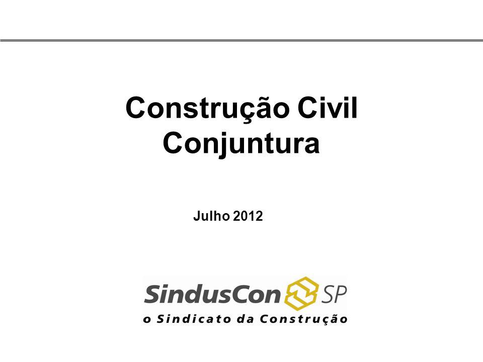 Construção Civil Conjuntura Julho 2012