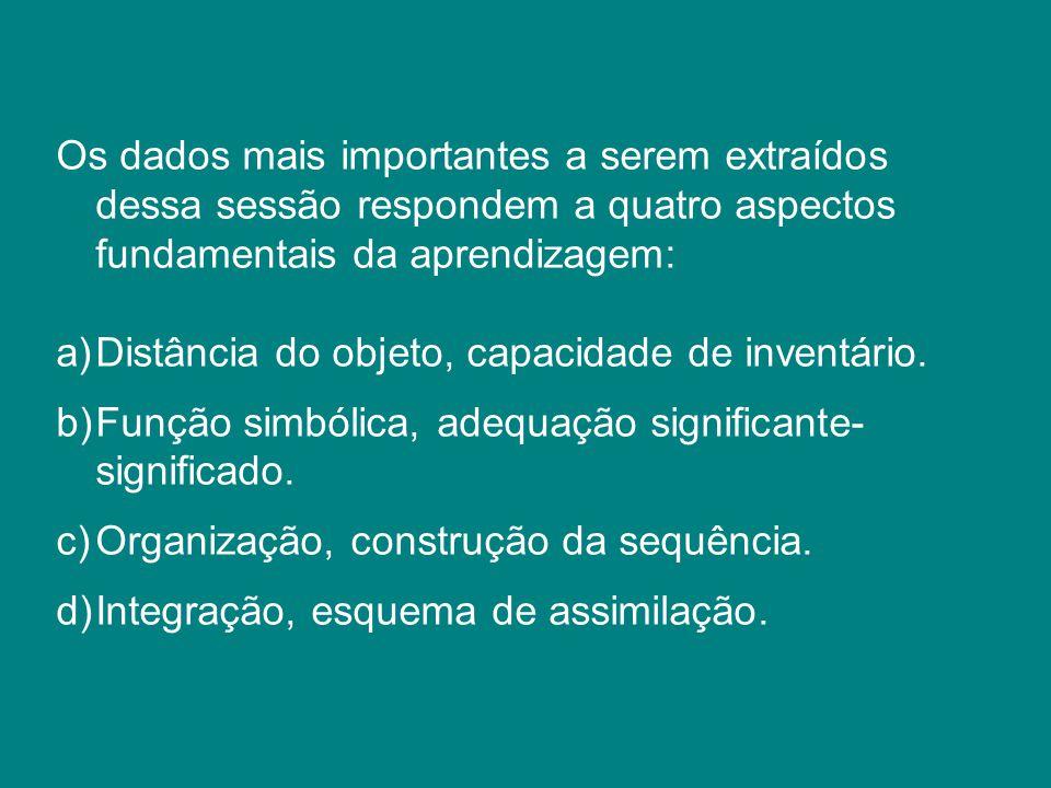 4 – Provas Psicométricas 5 – Provas Cognitivas 6 – Provas Psicomotoras 7 – Provas Específicas (linguagem, matemática, etc.)