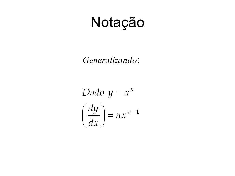 Generalizando :