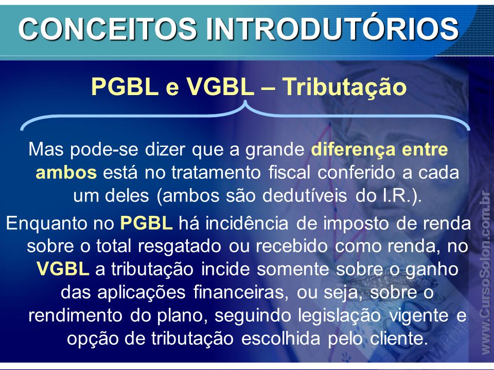 CONCEITOS INTRODUTÓRIOS Mas pode-se dizer que a grande diferença entre ambos está no tratamento fiscal conferido a cada um deles (ambos são dedutíveis do I.R.).