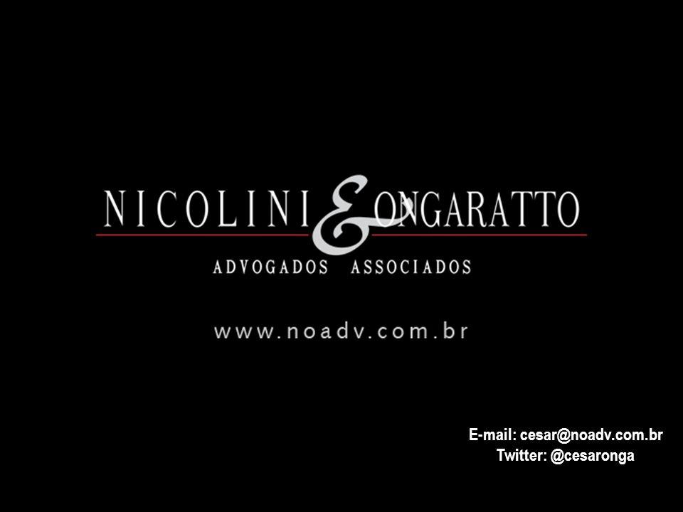 E-mail: cesar@noadv.com.br Twitter: @cesaronga