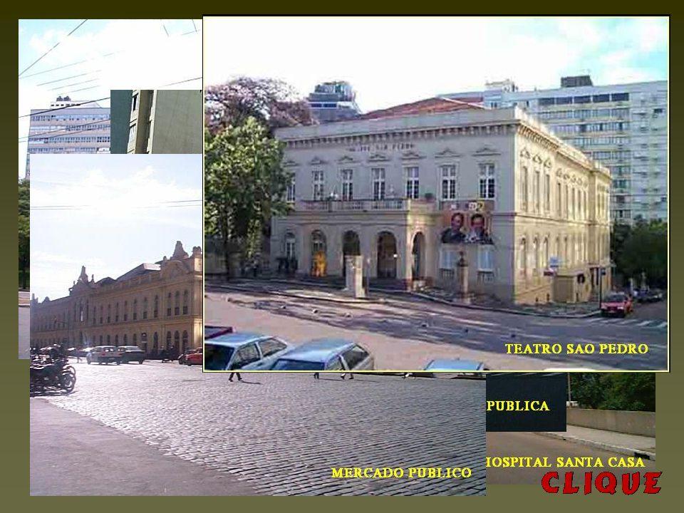 HOSPITAL DE PRONTO SOCORRO da Prefeitura Municipal de P.Alegre. Hospital de referência Internacional em atendimentos de urgência. Localizado No largo